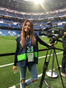 BELÉN ZURITA «En el periodismo deportivo hay mujeres que solo están por su físico»